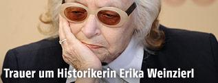 Wiener Historikerin Erika Weinzierl