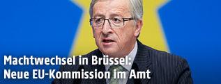Neuer EU-Kommissionspräsident Juncker