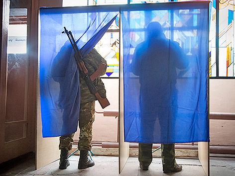 Separatisten wählen