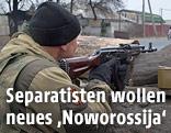 Pro-russischer Separatist