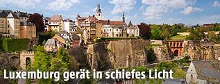 Stadtansicht von Luxemburg