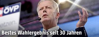 ÖVP-Parteiobmann Reinhold Mitterlehner