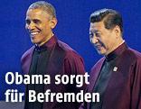 US-Präsident Barack Obama und Chinas Präsident Xi Jinping