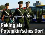 Soldaten in Peking