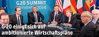 Diskussionsrunde am G-20-Gipfel