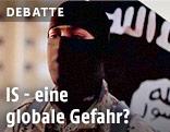 Videoausschnitt eines IS-Videos zeigt maskierten Mann