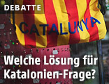 Katalonische Fahne