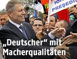 Rumäniens Liberalen-Chef und Bürgermeister der zentralrumänischen Stadt Sibiu (Hermannstadt), Klaus Johannis