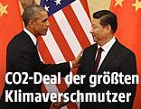 US-Präsident Barack Obama und Chinas Staats- und Parteichef Xi Jinping