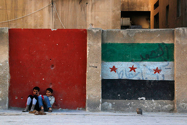 Kinder in Aleppo