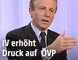 Präsident der Industriellenvereinigung, Georg Kapsch