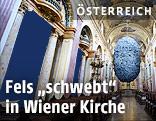 Fels in der Wiener Jesuitenkirche