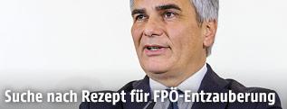 Bundeskanzler Werner Faymann