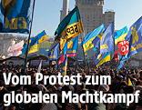 Demonstranten am Maidan in Kiew