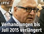 Deutscher Außenminister Franz-Walter Steinmeier