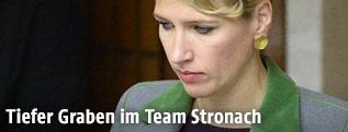 Team Stronach-Klubchefin Kathrin Nachbaur