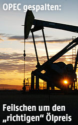 Ölförderanlage