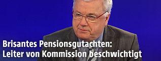 Kommissionsleiter Rudolf Müller