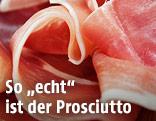 Aufgeschnittener Prosciutto