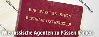 Österreichische Reisepässe