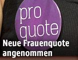 """pro quote""-Button am SPÖ-Bundesparteitag"