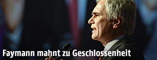 Bundeskanzler und SPÖ-Chef Werner Faymann