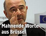 EU-Wirtschaftskommissar Pierre Moscovici