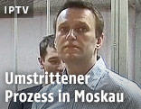 Kreml-Kritiker Nawalny vor Gericht