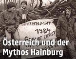 Umweltschützer besetzen 1984 die Hainburger Au