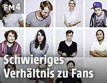Bildkombo mit Youtube-Stars