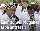 Robert und Grace Mugabe