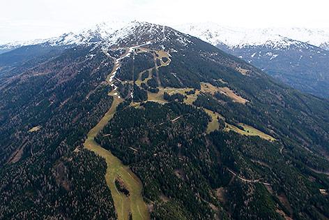 Luftbild von Partscherkofel