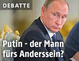 Russischer Präsidnet Vladimir Putin