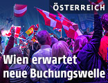 Zuschauer beim Eurovision Song Contest