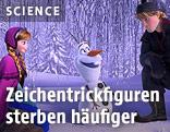 "Szene aus dem Animationsfilm ""Frozen"""