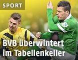 Zlatko Junuzovic (Werder Bremen) und Lukasz Piszczek (Dortmund)