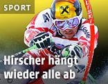 Marcel Hirscher auf der Piste