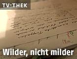 Manuskripte von Friederike Mayröcker