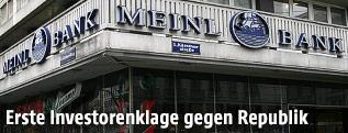 Fassade der Meinl-Bank