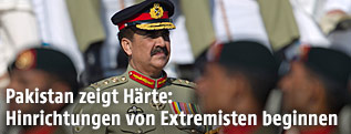 Pakistanischer Armeechef Raheel Sharif