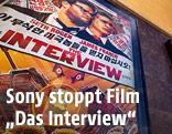 """Plakat zum Sony-Film """"Das Interview"""""""