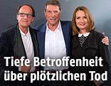 Udo Jürgens mit seiner Tochter Jenny und seinem Bruder Manfred Bockelmann