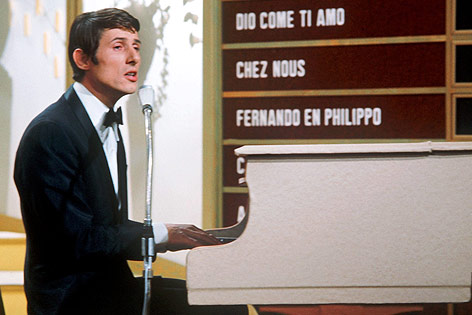 Udo Jürgens beim Eurovisions Song Contest