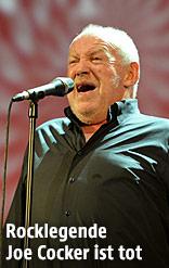 Rocklegende Joe Cocker