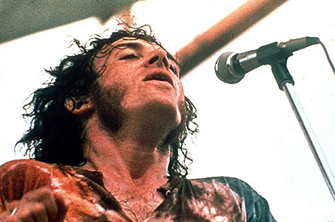 Joe Cocker 1969 beim Woodstock-Festival
