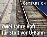 Bahnsteig in U-Bahn-Station