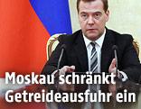 Russlands Premierminister Dmitri Medwedew