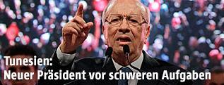 Tunesiens Politikveteran Beji Caid Essebsi