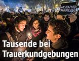 Trauerkundgebung in Paris
