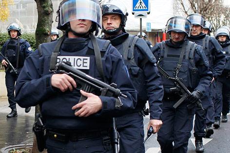 Polizeieinsatz nahe Paris
